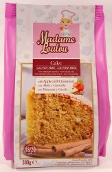 Madame Loulou Cake with apple and Cinnamon 300g
