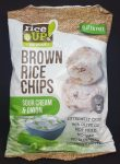 Rice Up hagymás - tejfölös  rizs chips 60 gr