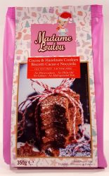 Madame Loulou Cocoa & Hazelnuts Cookies 350g