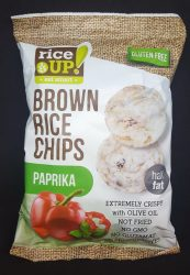Rice Up paprikás rizs chips 60 gr