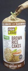 Rice Up Fekete rizses Natúr puffasztott szelet 120 gr. (1X12)