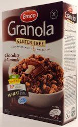 Emco Granola Gluten Free Müzli Csokoládéval És Mandulával 340G