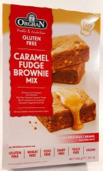 Orgran Caramel fudge brownie mix 400g