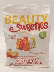 Beauty Sweeties gyümölcsös gumicukor Macik 125 gr.