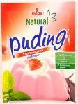 Haas Natural Puding Szamócaízű pudingpor 40g