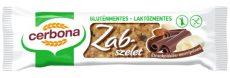 Cerbona Étcsokoládés-marcipános zabszelet kakaós bevonó talppal, gluténmentes, laktózmentes, 40 g.