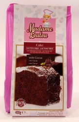 Madame Loulou Cake Kakaó ízű 400g