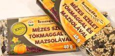 Bonetta mézes szelet tökmaggal és mazsolával 40 gr.