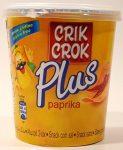 Crik Crok Plus GM paprikás chips 40 gr.