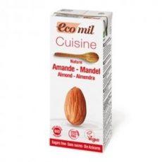 ECOMIL Bio Mandulatejszín Cukormentes 200 ML
