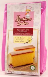 Madame Loulou Sponge Cake 400g