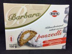 Barbara kókuszkrémmel töltött mézes puszedli 130 gr.