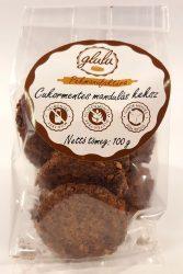 Glulu  Cukormentes mandulás keksz 100g