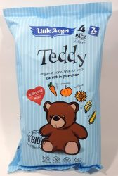 Teddy Organic Corn Snack With Carrot & Pumkin - Kukorica Snack