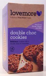 Love More duplacsokis keksz 125 gr