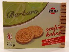 Barbara Omlós Keksz Glutén és Tejmentes 180g