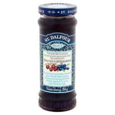 ST.DALFOUR Lekvár  Vörös+Kék Áfonya 284 G