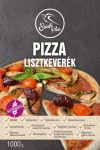 Szafi Free Pizza lisztkeverék 1000g (gluténmentes, tejmentes, tojásmentes, olajmentes, vegán)