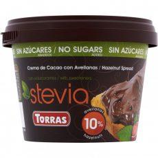 Torras Stevia Hozzáadott Cukormentes Mogyorókrém 200 G