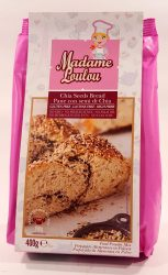 Madame Loulou Chia Seeds Bread 400g