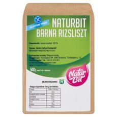 Naturbit Gluténmentes Barna Rizsliszt 500G