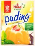 Haas Natural Puding Vaníliaízű pudingpor 40g